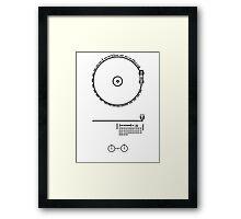 Voyager LP Framed Print
