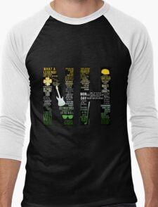 Niall Horan Quotes Men's Baseball ¾ T-Shirt