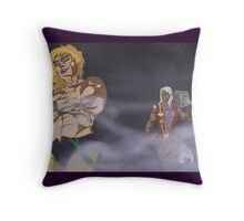 Dry Ice Ice Baby Throw Pillow