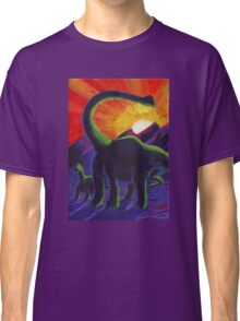 Jurassic Sunset Classic T-Shirt
