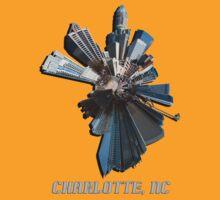 Charlotte, NC tee by Alexandr Grichenko