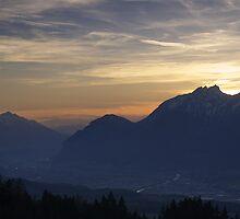 Tirol Mountains  by Bogdan Ciocsan
