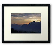 Tirol Mountains  Framed Print