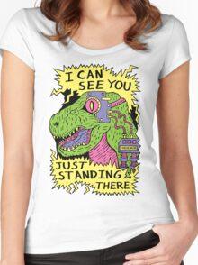 Eye Rex Women's Fitted Scoop T-Shirt