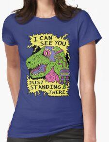 Eye Rex Womens Fitted T-Shirt