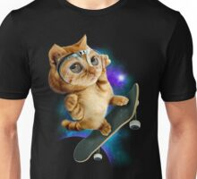 SKATEBOARD CAT Unisex T-Shirt