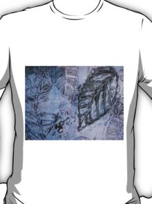 Autumn Leaf Mixed Media Series 1 by Heather Holland  T-Shirt