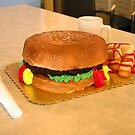 hamburger cake by designsalive