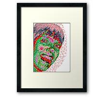 Bubble Girl Framed Print