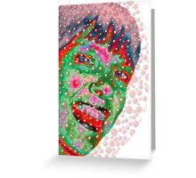 Bubble Girl Greeting Card