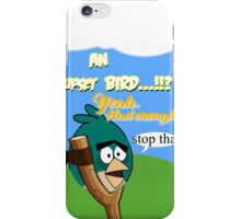 Fed Up Bird iPhone Case/Skin