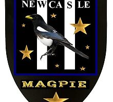 A Crest for Newcastle Magpie's by trsuk1