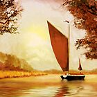 The Wherry Albion'... by Valerie Anne Kelly