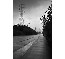 The long path Photographic Print