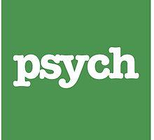 Psych t shirt  by lolipoptalia