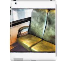 Retro Railway Seat iPad Case/Skin