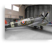 Spitfire mk ix(MH434) Canvas Print