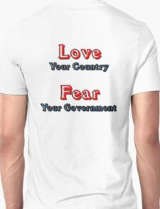 Fear Your Government T-Shirt