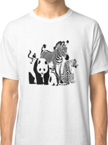 Spots and Stripes Classic T-Shirt