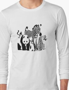 Spots and Stripes Long Sleeve T-Shirt