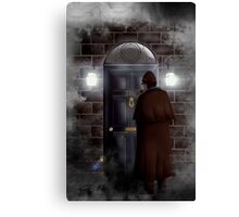 Haunted house Baker street 221b Canvas Print