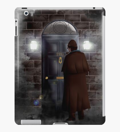 Haunted house Baker street 221b iPad Case/Skin
