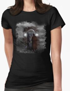 Haunted house Baker street 221b Womens Fitted T-Shirt