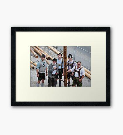 Bavarian People IX Framed Print