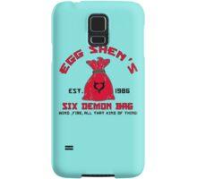 EGG SHEN'S SIX DEMON BAG Samsung Galaxy Case/Skin
