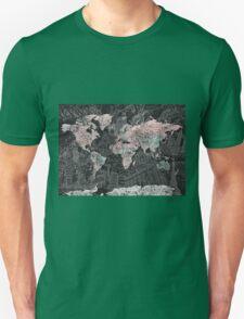 World Map antique Unisex T-Shirt