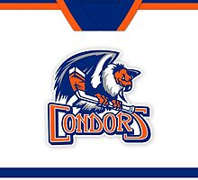 Bakersfield Condors Home Jersey by Russ Jericho