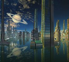 Cities of Tomorrow-Scariss by AlienVisitor