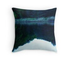 Mirror Image of Beauty Throw Pillow