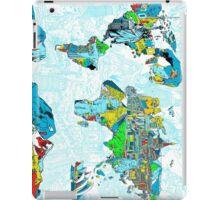World Map landmarks 5 iPad Case/Skin