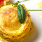 Chicken-Curry-Lasagna With Yellow Pepper Cream II by SmoothBreeze7