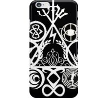 Book Fandoms in Black iPhone Case/Skin