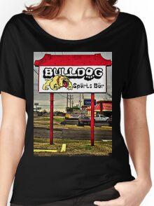 Bulldog Sports Bar Women's Relaxed Fit T-Shirt