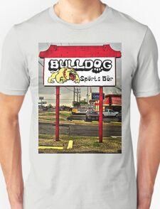 Bulldog Sports Bar Unisex T-Shirt