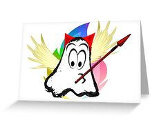 funny ghost  Greeting Card