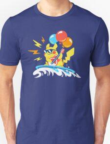 Surfin' Flyin' Rockin' Pikachu T-Shirt