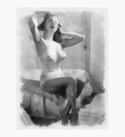 Pin Up 6 by Frank Falcon Photographic Print