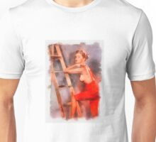 Pin Up 8 by Frank Falcon Unisex T-Shirt