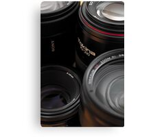Lenses Canvas Print