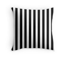 Black White Striped Pillow Cushion Cover Skirt Throw Pillow