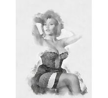 Pin Up 19 by Frank Falcon Photographic Print