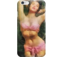 Pin Up 30 by Frank Falcon iPhone Case/Skin