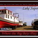 Postcard entry  - Where the Big Boys Play by loralea