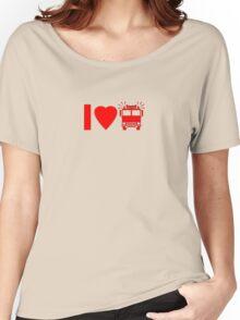 Kids T-Shirt I love Fire Engine Trucks Women's Relaxed Fit T-Shirt