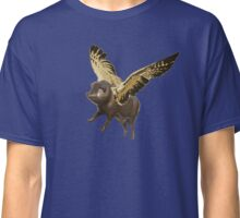 Pigs Can Fly (bronze version) Classic T-Shirt