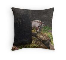 Childs Grave Throw Pillow